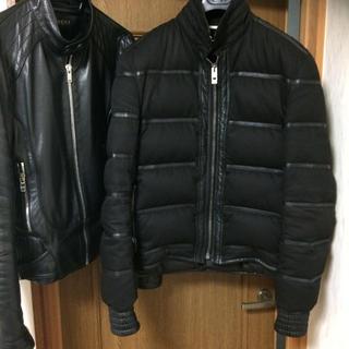 ディオールオム(DIOR HOMME)のディオールオム ダウンジャケット 色はブラックです。エディスリマン初期の商品です(ダウンジャケット)