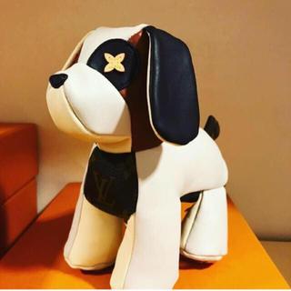 ルイヴィトン(LOUIS VUITTON)の新品 国内直営店購入 激レア ヴィトン   犬 ぬいぐるみ ドッグ オスカー(ぬいぐるみ/人形)