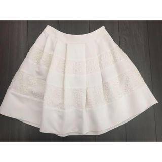 アベニールエトワール(Aveniretoile)の値下げ34 アヴェニールエトワール スカート(ひざ丈スカート)