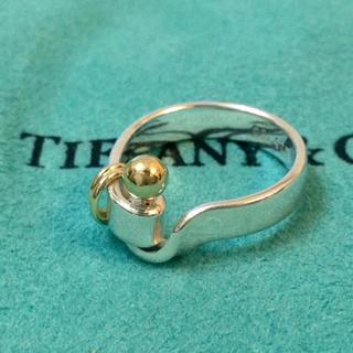ティファニー(Tiffany & Co.)の【ティファニー Tiffany】リング フック&アイ ゴールド シルバー(リング(指輪))