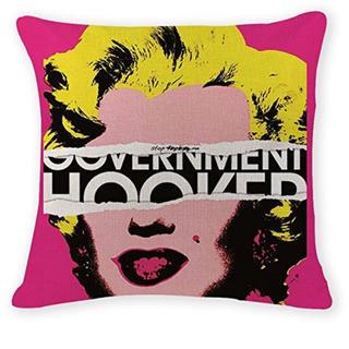 アンディウォーホル(Andy Warhol)のクッションカバー マリリンモンロー アンディウォーホル オシャレ(クッションカバー)