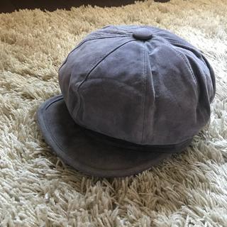 ナンバーナイン(NUMBER (N)INE)の帽子 キャスケット グレー(キャスケット)