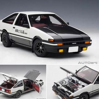 オートメーター(Auto Meter)のオートアート 1/18トヨタ スプリンター トレノ (AE86) 頭文字 D (模型/プラモデル)