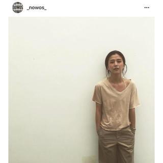 ファビアンルー(Fabiane Roux)のNOWOS 2018 シルク混 tシャツ(シャツ/ブラウス(半袖/袖なし))