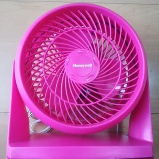 Honeywell製 サーキュレーター  ピンク 動作確認済み(サーキュレーター)