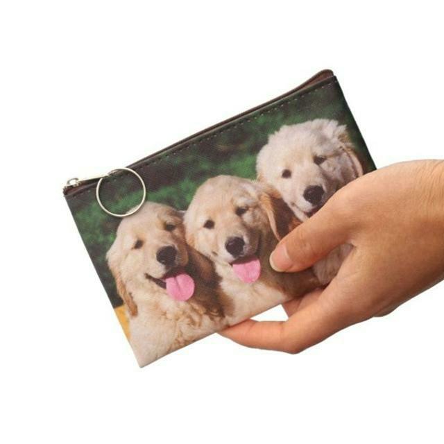 ゴールデンレトリバー コインケース・ポーチ・小物入れ 新品未使用品 送料無料♪ その他のペット用品(犬)の商品写真