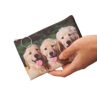 ゴールデンレトリバー コインケース・ポーチ・小物入れ 新品未使用品 送料無料♪(犬)