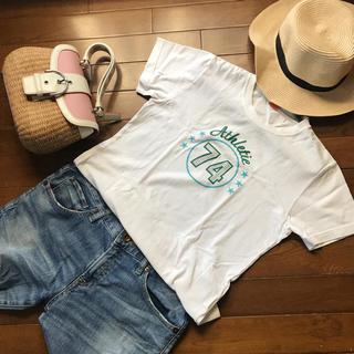 アスレタRUMOUR HOUSE白tシャツ