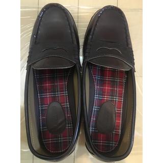 アスビー(ASBee)の茶色ローファー(ローファー/革靴)