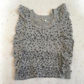 ニードルワークスーン(NEEDLE WORK SOON)のニードルワークスーン 100サイズ フレンチスリーブ Tシャツ(Tシャツ/カットソー)
