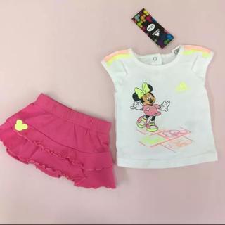アディダス(adidas)の新品 80%off 限定 ディズニー アディダス  新生児 2点セット  (Tシャツ)