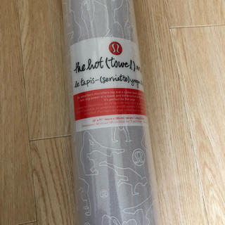 ルルレモン(lululemon)のlululemon ヨガマット 非売品 ヨガマットタオル(ヨガ)