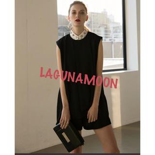 ラグナムーン(LagunaMoon)のLAGUNAMOON ドレープAラインコンビネゾン(その他)
