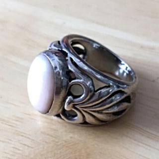ピンクシェルのリング  2個set(リング(指輪))