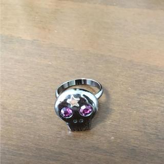 ほぼ新品☆スカルのリング(リング(指輪))