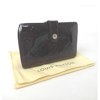 ルイヴィトン(LOUIS VUITTON)のルイヴィトン モノグラム  がま口 ポルトフォイユ   ヴェルニ  (財布)