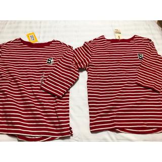 スヌーピー(SNOOPY)のペアTシャツ スヌーピー赤(Tシャツ(半袖/袖なし))