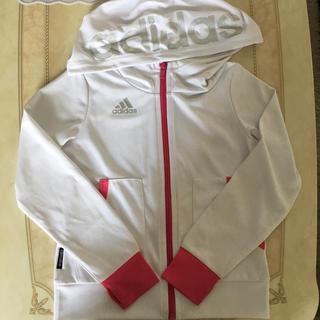 アディダス(adidas)のMaa19880218様専用 アディダス UVパーカー 130 女の子(ジャケット/上着)