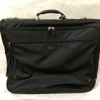 ゴールドファイル(GOLD PFEIL)のGOLD PFEILブラックナイロンメンズビジネスバッグ ガーメントケース仕事鞄(トラベルバッグ/スーツケース)