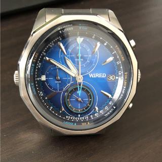 ワイアード(WIRED)のWIRED腕時計(腕時計(アナログ))