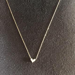 サマンサティアラ(Samantha Tiara)のサマンサティアラ ハート ダイヤモンド ネックレス (ネックレス)