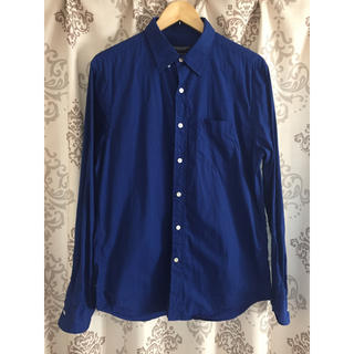 アメリカンイーグル(American Eagle)のシャツ ブルー(Mサイズ)(シャツ)
