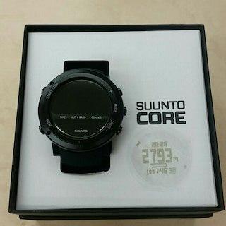 スント(SUUNTO)の国内正規品 スント ALU DEEP BLACK 腕時計 フルセット(その他)