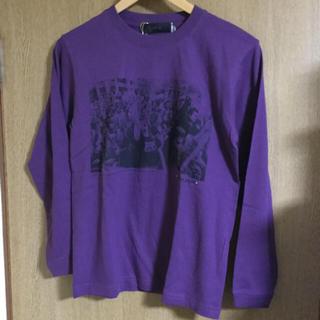 トランザクション(transaction)のtrans action グラフィック カラーストーン ロングTシャツ 新品(Tシャツ/カットソー(七分/長袖))