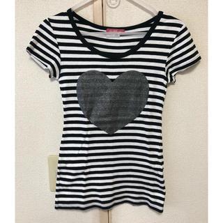 アルブム(ALBUM)のアルブム ボーダーTシャツ ALBUM(Tシャツ(半袖/袖なし))