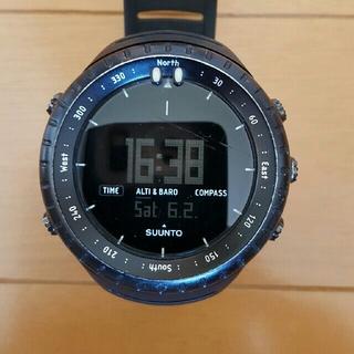 スント(SUUNTO)のスント コア オールブラック(腕時計(デジタル))