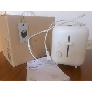 ムジルシリョウヒン(MUJI (無印良品))の無印良品 MUJI ポップアップトースター(調理機器)