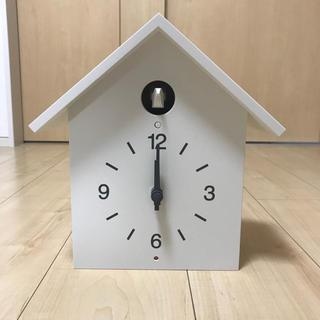 ムジルシリョウヒン(MUJI (無印良品))の無印 鳩時計 ホワイト(掛時計/柱時計)