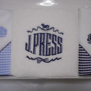J.PRESS (オンワード)ハンカチ タオル 3点セット 新品未使用