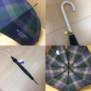 バーバリーブルーレーベル(BURBERRY BLUE LABEL)のクレストブリッジ ブルーレーベル 傘(傘)
