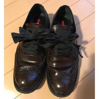 プラダ(PRADA)のPRADA ウィングチップシューズ👞(ローファー/革靴)