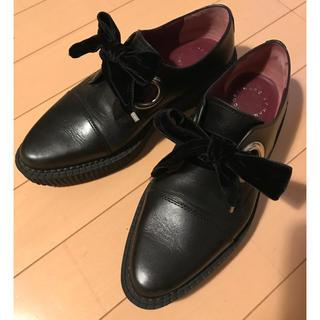 マークジェイコブス(MARC JACOBS)の半額‼️MARC JACOBS ラバーソール👞(ローファー/革靴)