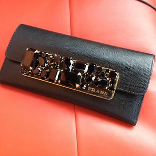 プラダ(PRADA)のPRADA♡ビジュー♡財布(財布)
