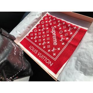ルイヴィトン(LOUIS VUITTON)のルイ・ヴィトン17FW 「バンダナ・シュプリーム」(バンダナ/スカーフ)