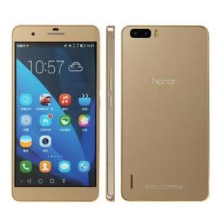 アンドロイド(ANDROID)のHUAWEI社製SIMフリー端末 Honor6 plus(スマートフォン本体)