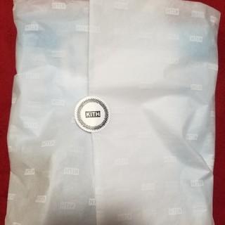 KITH 5/21 dye box logo tee 青(Tシャツ/カットソー(半袖/袖なし))