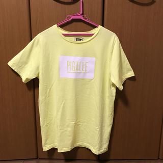 PIGALLE - ピガール Tシャツ 黄色  Mサイズ