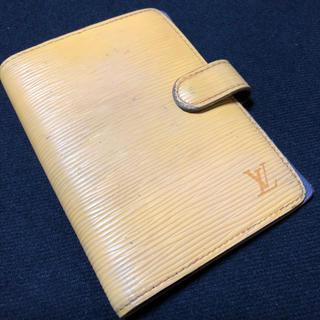 ルイヴィトン(LOUIS VUITTON)のLouis Vuitton EPI ルイヴィトン エピ 手帳 スケジュール帳(財布)