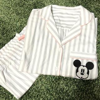 ジーユー(GU)のGU パジャマ ミッキー 半袖 セット(パジャマ)