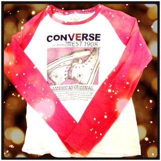 コンバース(CONVERSE)の【値下げ】コンバース⭐ロンT(Tシャツ(長袖/七分))