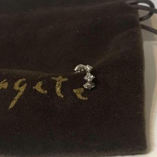 アガット(agete)のagete K18WGトレルナDP(ピアス)