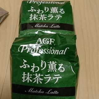 エイージーエフ(AGF)の抹茶ラテ(コーヒー)