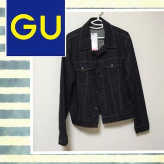 ジーユー(GU)のGU♡デニムジャケット メンズ  Sサイズ(Gジャン/デニムジャケット)