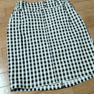 レイカズン(RayCassin)のギンガムチェックタイトスカート(ひざ丈スカート)