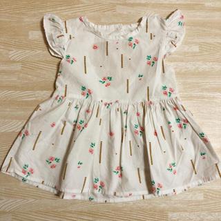ザラキッズ(ZARA KIDS)の韓国子供服 ワンピース 70 80(ワンピース)