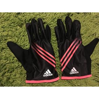 アディダス(adidas)のadidas マラソン 手袋(手袋)